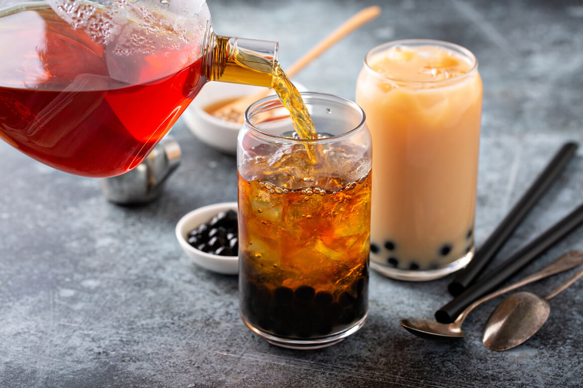 receita de bubble tea