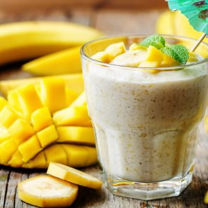 Receita de Smoothie Vegano com Golden Milk