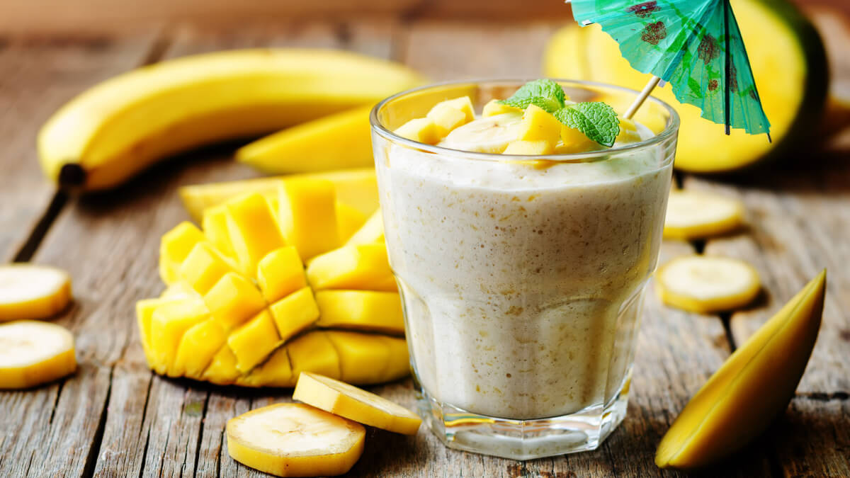 Smoothie Vegano com Golden Milk
